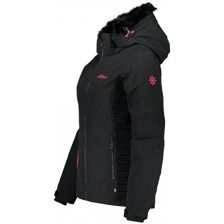 Dámská lyžařská bunda ALTISPORT CAXIA ČERNÁ