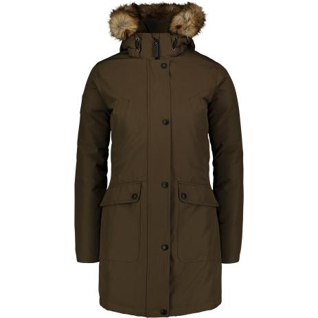 Dámský zimní kabát NORDBLANC GELID NBWJL6941 ZELENÁ