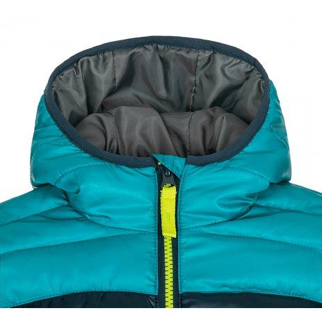 Dětská bunda LOAP INBELO CLK2050 TMAVĚ MODRÁ