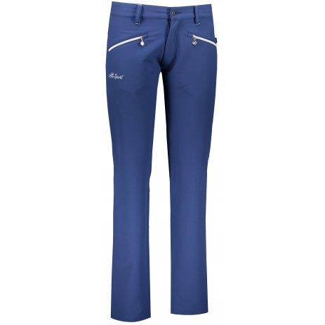 Dámské softshellové kalhoty ALTISPORT FORA TMAVĚ MODRÁ