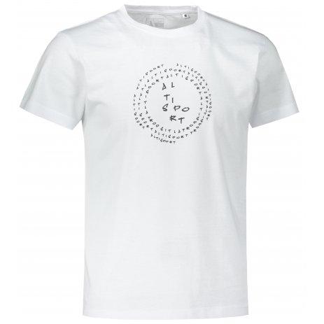 Pánské triko ALTISPORT ALM036F29 BÍLÁ