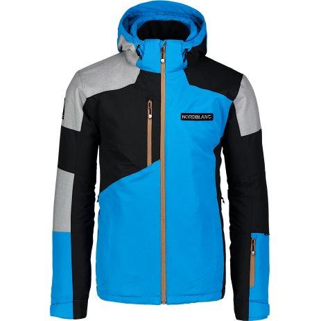 Pánská lyžařská bunda NORDBLANC COPPER NBWJM6900 AZUROVÁ