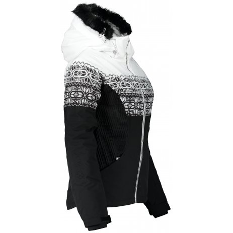 Dámská lyžařská bunda ALTISPORT IPATA ČERNÁ