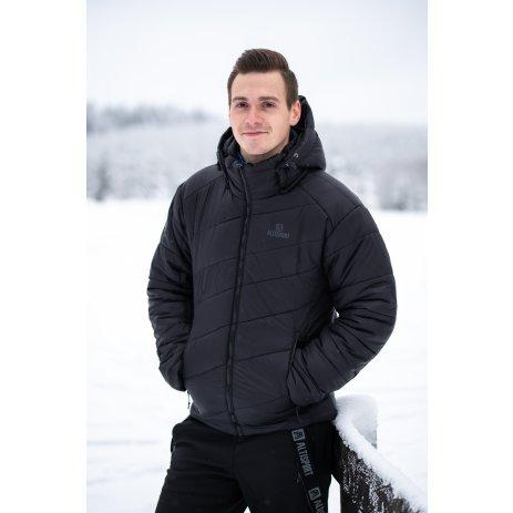 Pánská zimní bunda ALTISPORT ROGAN ČERNÁ