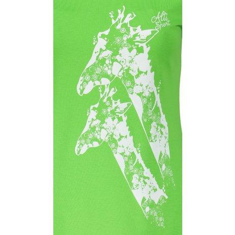 Dámské triko ALTISPORT ALW034122 APPLE GREEN