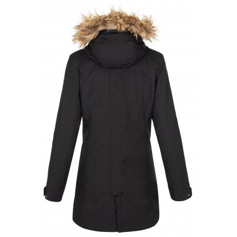 Dámský zimní kabát KILPI PERU-W NL0072KI ČERNÁ