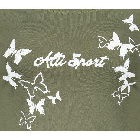Dámské triko ALTISPORT ALW011169 KHAKI