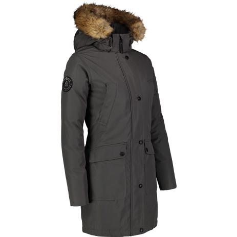 Dámský zimní kabát NORDBLANC GELID NBWJL6941 ŠEDÝ KOUŘ