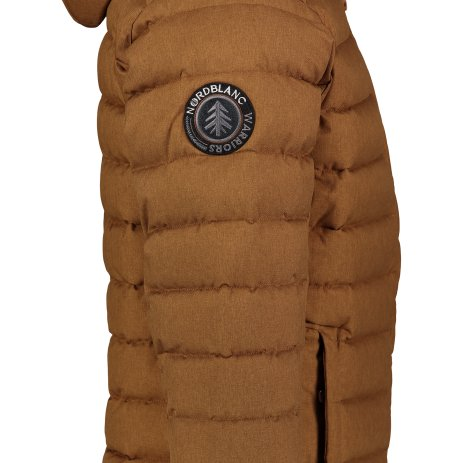 Pánská zimní bunda NORDBLANC STATIC NBWJM7307 PUŠTÍKOVA HNĚDÁ