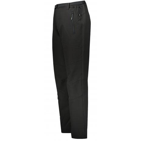 Pánské softshellové kalhoty ALTISPORT FORAN ČERNÁ