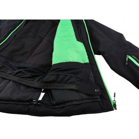 Pánská lyžařská bunda HANNAH CALVIN ANTHRACITE