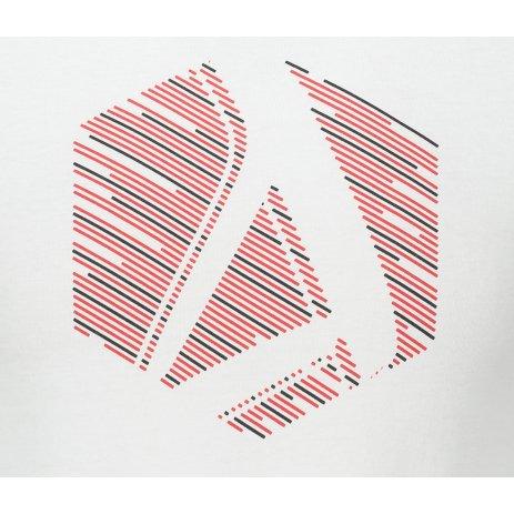 Pánské triko ALTISPORT ALM033119 BÍLÁ
