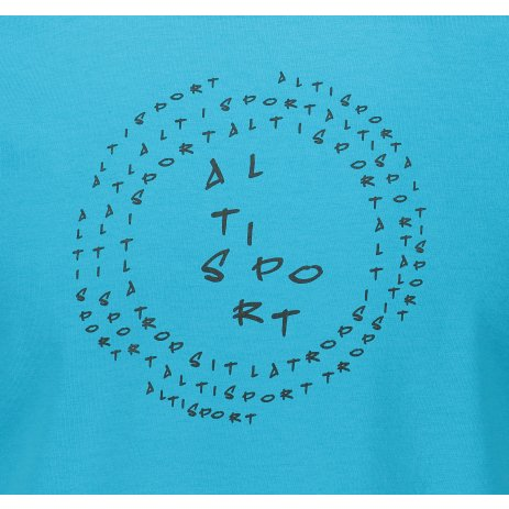 Pánské triko ALTISPORT ALM036F29 TYRKYSOVÁ