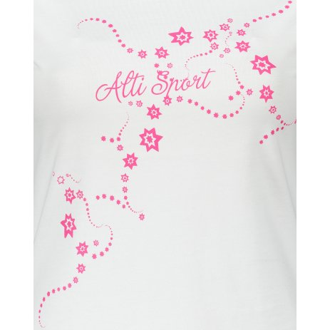 Dámské triko ALTISPORT ALW009F61 BÍLORŮŽOVÁ