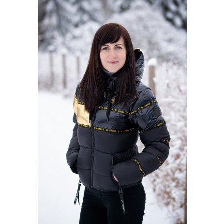 Dámská zimní bunda ALTISPORT TIMOTEA ČERNÁ