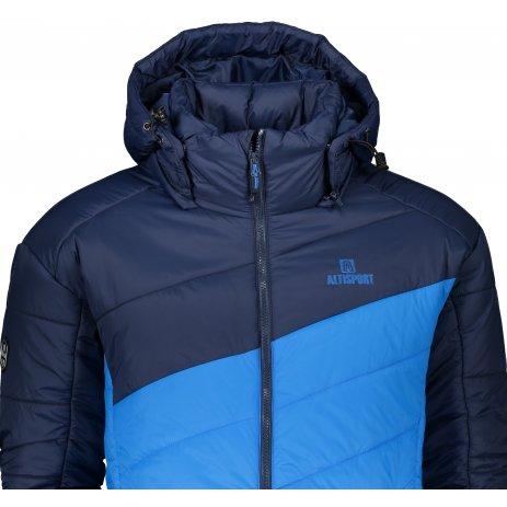 Pánská zimní bunda ALTISPORT ROGAN MODRÁ