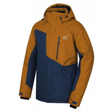 Pánská lyžařská bunda HANNAH JURGEN II GOLD BROWN MEL/ESTATE MEL