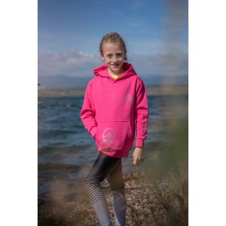 Dětská mikina ALTISPORT ALK026JN796K RŮŽOVÁ