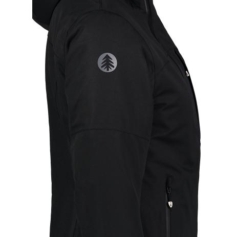 Dámská lyžařská bunda NORDBLANC TILT NBWJL6922 CRYSTAL ČERNÁ