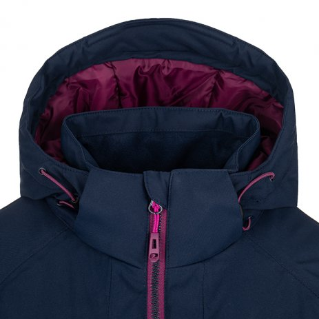 Dámská lyžařská bunda LOAP FLOE OLW2016 RŮŽOVÁ/MODRÁ