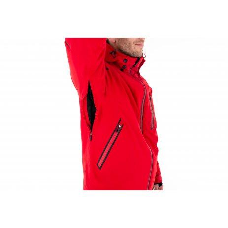Pánská lyžařská bunda KILPI TURNAU-M NMX018KI ČERVENÁ