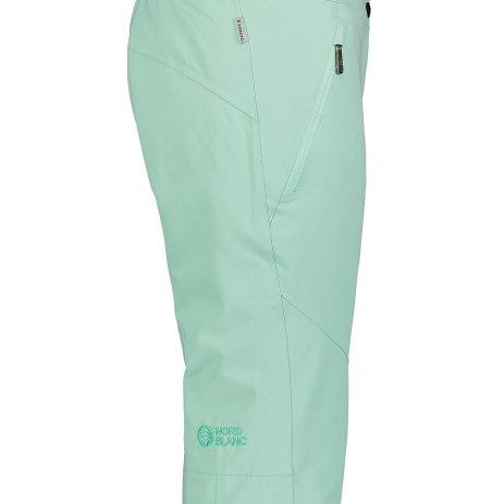 Dámské lyžařské kalhoty NORDBLANC CALMNES NBWP7331 ZELENÁ