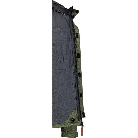 Pánská softshellová bunda NORDBLANC GRASP NBWSM7173 ZELENÁ