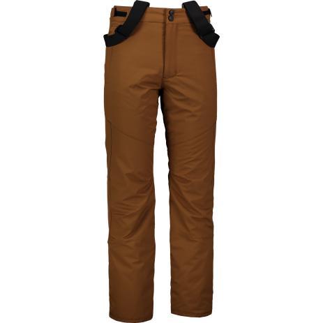Pánské lyžařské kalhoty NORDBLANC ARID NBWP6955 PUŠTÍKOVA HNĚDÁ