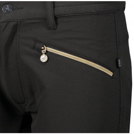 Dámské softshellové kalhoty ALTISPORT FORA ČERNÁ