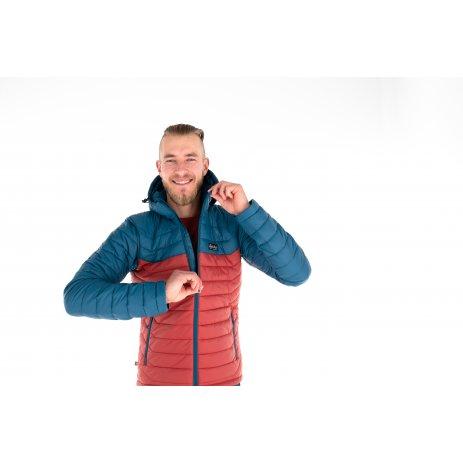 Pánská zimní bunda KILPI SMITHERS-M NM0004KI TYRKYSOVÁ
