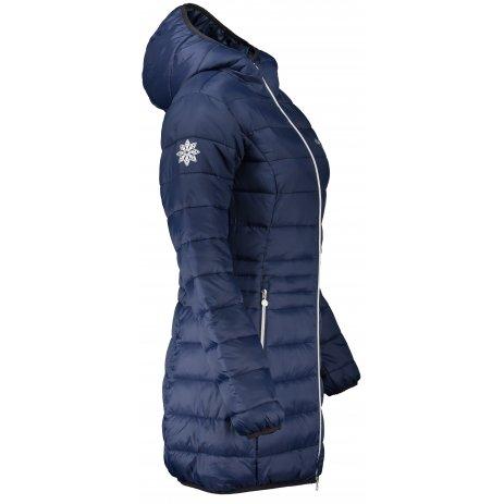 Dámský kabát ALTISPORT COBACA TMAVĚ MODRÁ