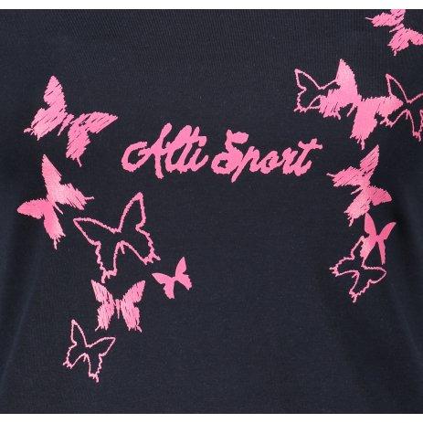 Dámské triko ALTISPORT ALW011F61 NAVY/RŮŽOVÁ