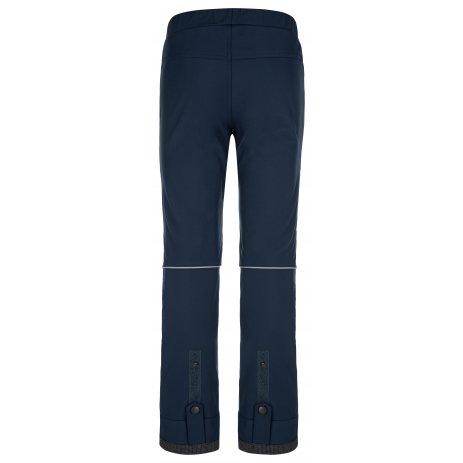 Dětské softshellové kalhoty KILPI RIZO-J NJ0012KI TMAVĚ MODRÁ