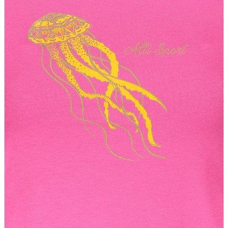 Dámské triko ALTISPORT ALW051122 PURPUROVÁ