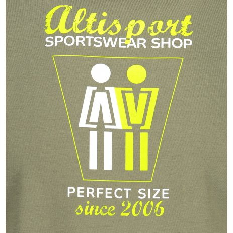 Pánské triko ALTISPORT ALM049129 KHAKI