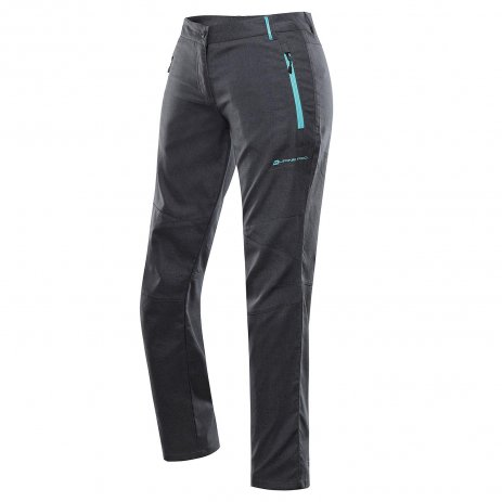 Dámské softshellové kalhoty ALPINE PRO MURIA 4 LPAT341 ČERNÁ