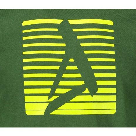 Pánské triko ALTISPORT ALM039129 LAHVOVĚ ZELENÁ