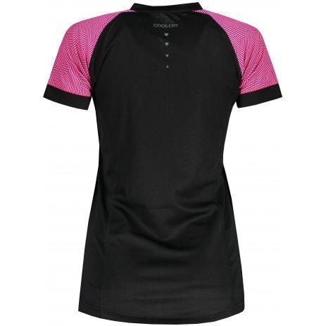 Dámské funkční triko ALPINE PRO SORANA LTST412 ČERNÁ