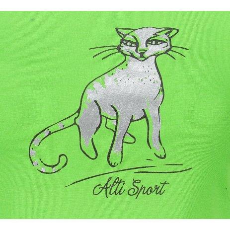 Dámské triko ALTISPORT ALW052122 APPLE GREEN
