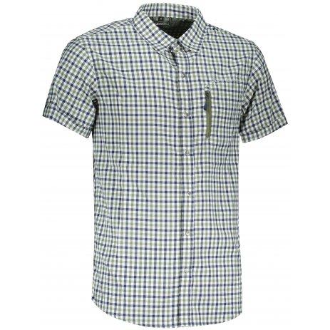 Pánská košile ALPINE PRO LURIN 4 MSHT033 ZELENÁ