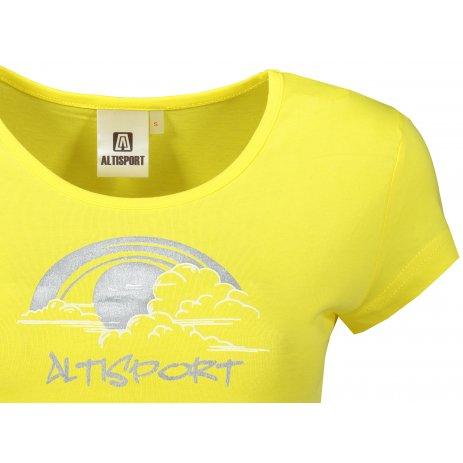 Dámské triko ALTISPORT ALW044122 CITRÓNOVÁ