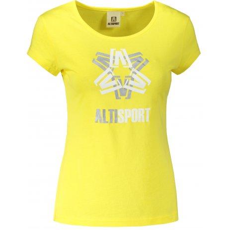 Dámské triko ALTISPORT ALW046122 CITRÓNOVÁ