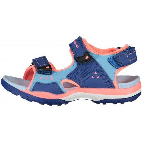 Dětské sandále ALPINE PRO GERETO KBTT286 TMAVĚ MODRÁ