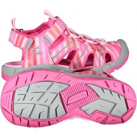 Dětské sandále ALPINE PRO ANGUSO KBTT279 RŮŽOVÁ