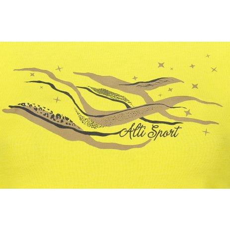 Dámské triko ALTISPORT ALW054122 CITRÓNOVÁ