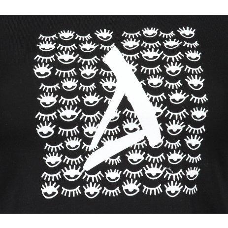 Dámské triko ALTISPORT ALW040122 ČERNOBÍLÁ