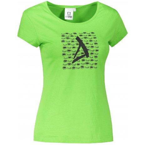 Dámské triko ALTISPORT ALW040122 APPLE GREEN