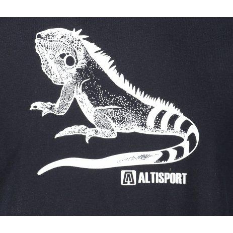 Pánské triko ALTISPORT ALM038F29 NÁMOŘNÍ MODRÁ