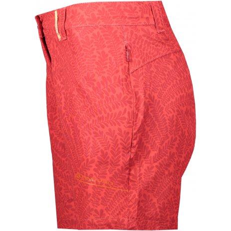 Dámské šortky ALPINE PRO CUOMA 3 LPAT387 ČERVENÁ