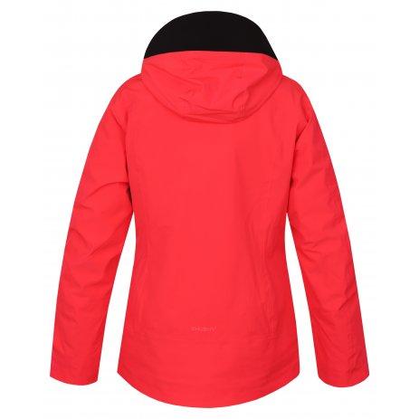 Dámská zimní bunda HUSKY MONTRY L NEONOVĚ RŮŽOVÁ